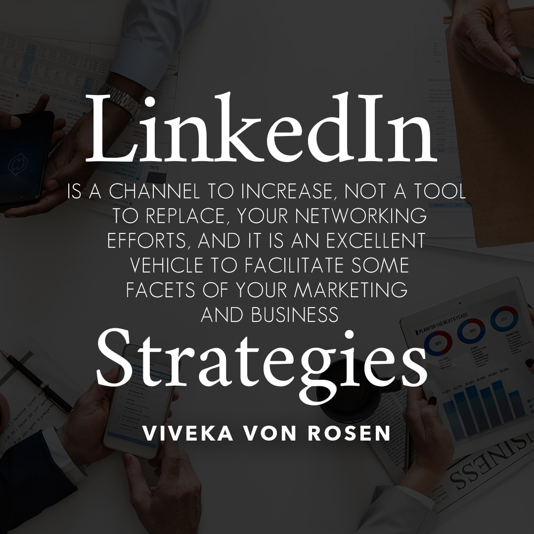 LinkedIn strategy quote